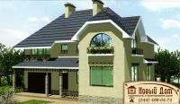 Проект кирпичного дома№006