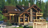Проект деревянного дома№013