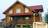 Проект деревянного дома№014