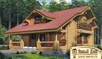 Проект деревянного дома№015