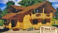 Проект деревянного дома№017
