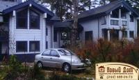 Проект деревянного дома№020
