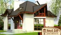 Проект кирпичного дома№003
