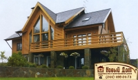Проект деревянного дома№023