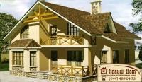 Проект кирпичного дома№011