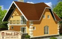 Проект кирпичного дома№012