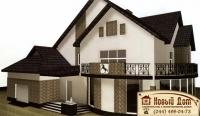 Проект кирпичного дома№017