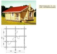 Проект бани №033
