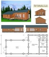 Проект бани №059