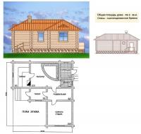 Проект бани №060