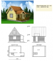 Дачный проект№013