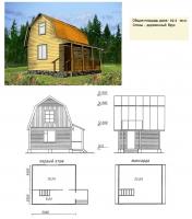 Дачный проект№014