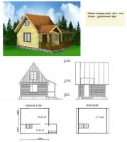 Дачный проект№027