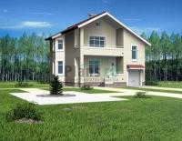 Проект кирпичного дома№039