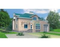 Проект кирпичного дома№043