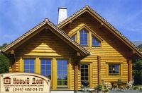Проект деревянного дома№009
