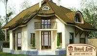 Проект кирпичного дома№002