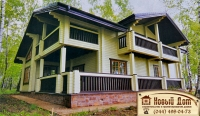 Проект деревянного дома№011