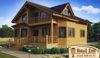 Проект деревянного дома№018