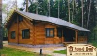 Проект деревянного дома№021
