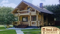 Проект деревянного дома№024