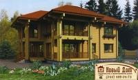 Проект деревянного дома№091