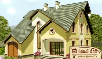 Проект кирпичного дома№007