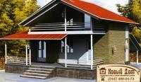 Проект кирпичного дома№013