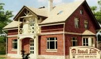 Проект кирпичного дома№014