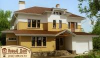 Проект кирпичного дома№019