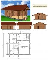 Проект бани №056