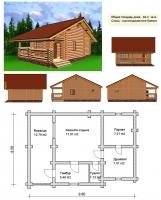 Проект бани №063