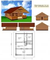 Проект бани №071