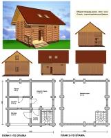 Проект бани №073