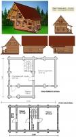 Проект бани №105