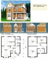 Проект деревянного дома№050