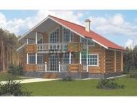 Проект деревянного дома№088