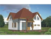 Проект кирпичного дома№027