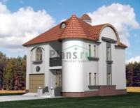 Проект кирпичного дома№030
