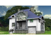 Проект кирпичного дома№031