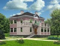 Проект кирпичного дома№033
