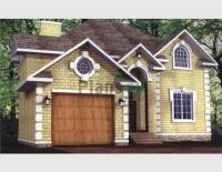 Проект кирпичного дома№035