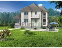 Проект кирпичного дома№041