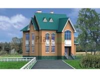 Проект кирпичного дома№044