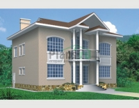 Проект кирпичного дома№047