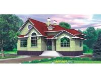 Проект кирпичного дома№048