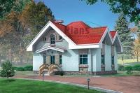 Проект кирпичного дома№053