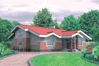 Проект кирпичного дома№060