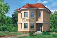 Проект кирпичного дома№064