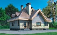 Проект кирпичного дома№071